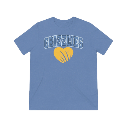 """Grizz Claw"" Tri-blend Tee"