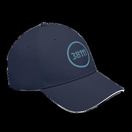 """38111"" Sandwich Brim Baseball Cap"
