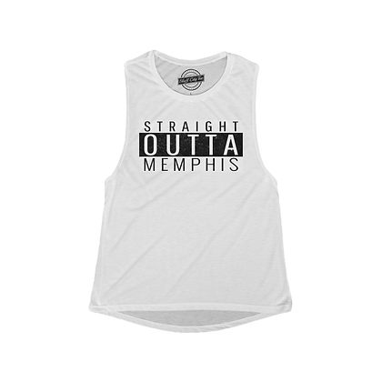 """""""Straight Outta Memphis"""" Muscle Tank"""