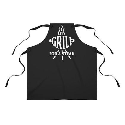 """""""I'd Grill"""" Apron"""