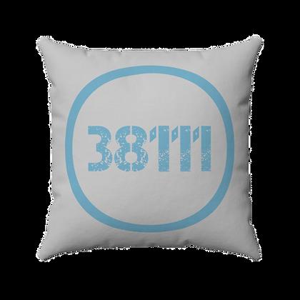 """38111"" Spun Polyester Square Pillow"