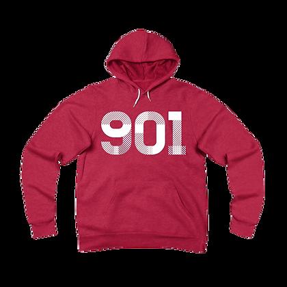 """""""901"""" Fleece Pullover Hoodie"""
