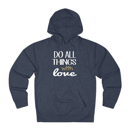 """""""With Love"""" French Terry Hoodie"""