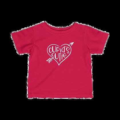 """Cupid's Cutie"" Infant Tee"