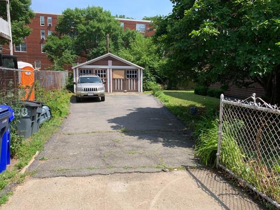 Driveway (private parking tbd)
