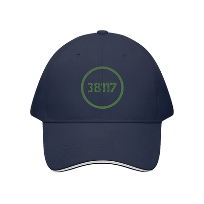 """38117"" Sandwich Brim Baseball Cap"