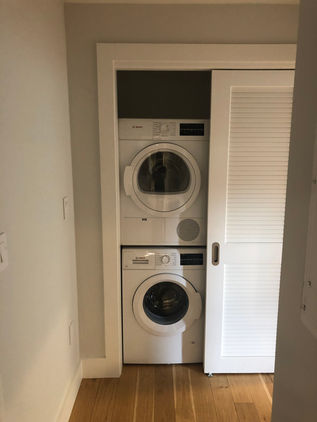 Free In-Unit Washer/Dryer