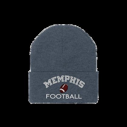 """""""Memphis Football"""" Knit Beanie"""
