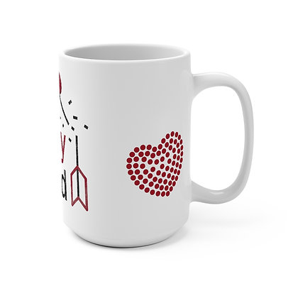 """Not Today Cupid"" Mug - 15oz"