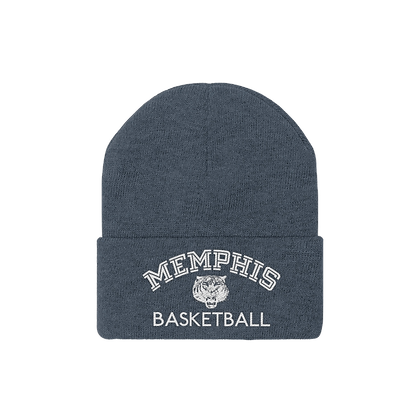 """Memphis Basketball"" Knit Beanie"