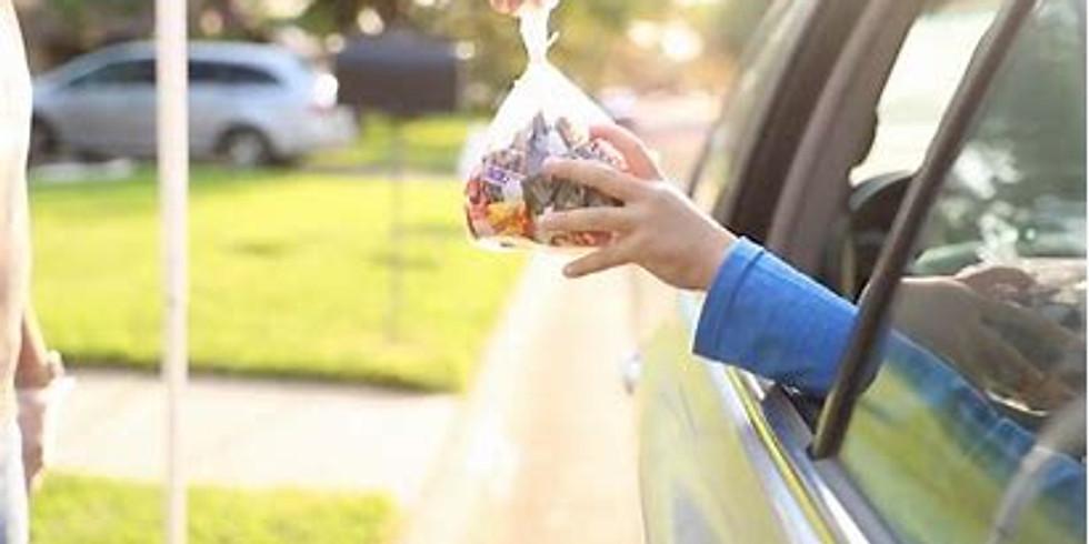 Drive-thru Candy Give Away