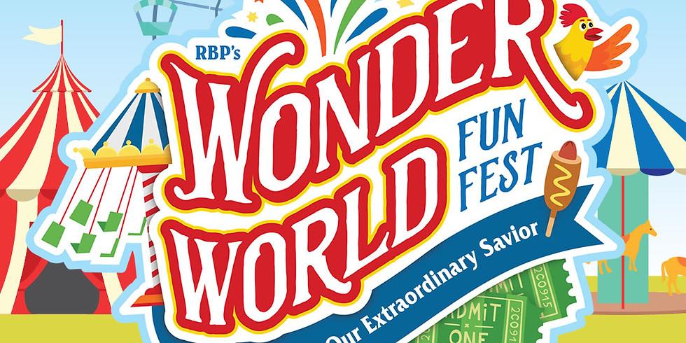 Wonderworld FunFest VBS