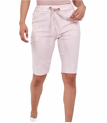 Made in Italy plain magic Trouser shorts
