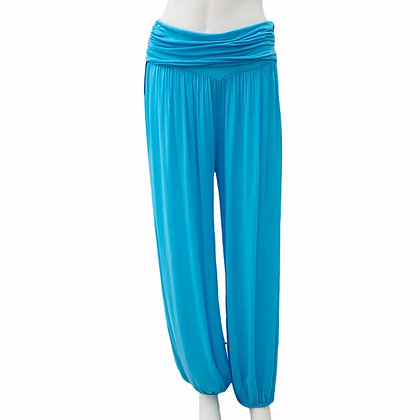 Made in Italy Summer light coloured Harem Trousers
