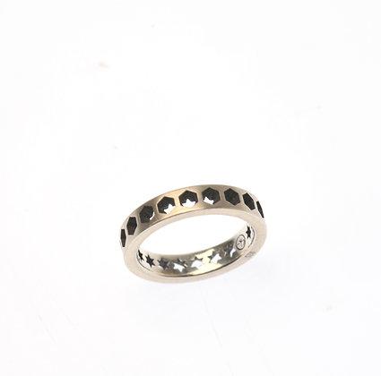 HEXAR 1 Row Ring