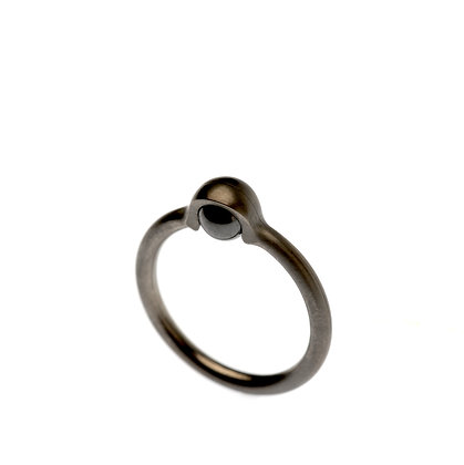 'Trapped' Ring - PETITE