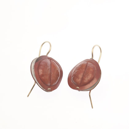 Pod Bi-Metal Earrings #1