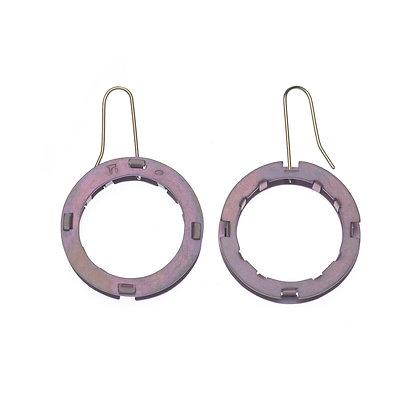 Spoke Earrings