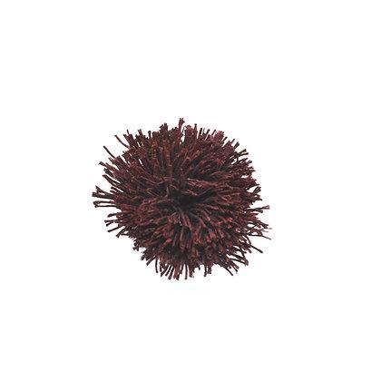 Quite Wattle Brooch (purple)