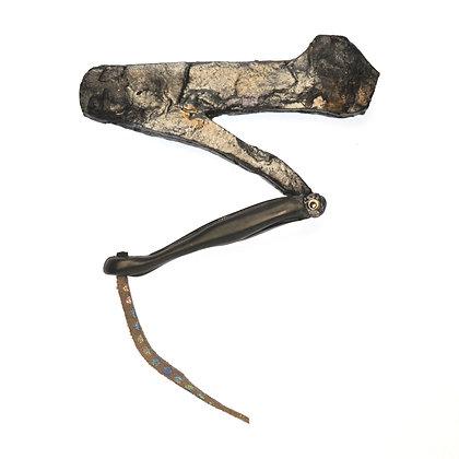 Grey Grasshopper Leg