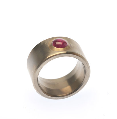 Ruby Cabochon Ring