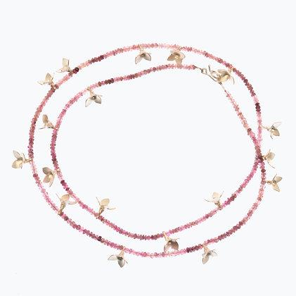 Pink Boronia Necklace