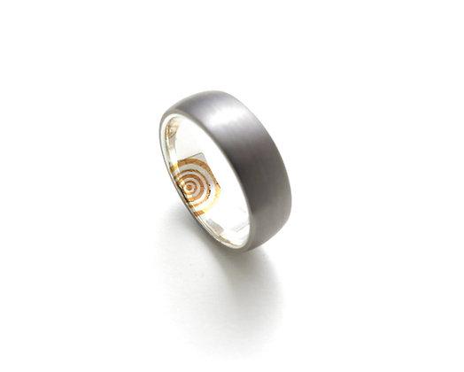 Single Ripple Ring