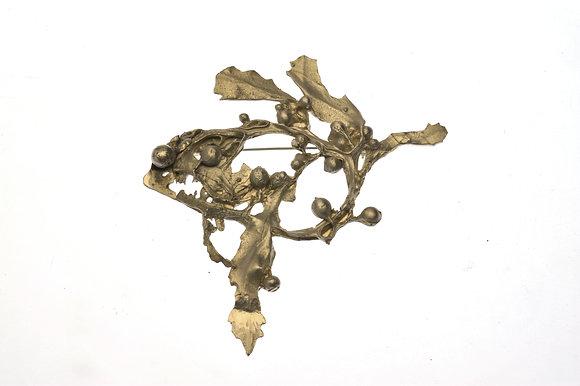Seaweed Brooch