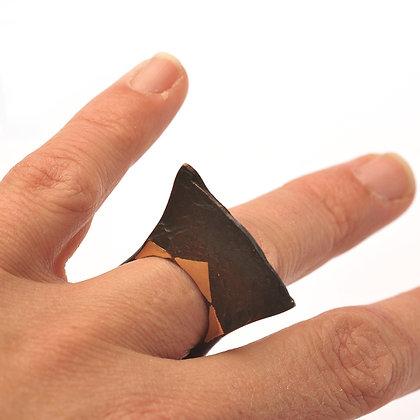 Iron Gold Ring