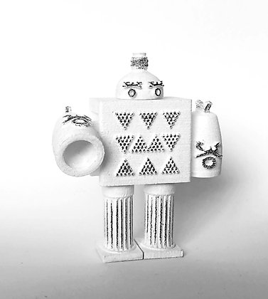 Chris Bahng -  Unexpected Linkages Robot Series