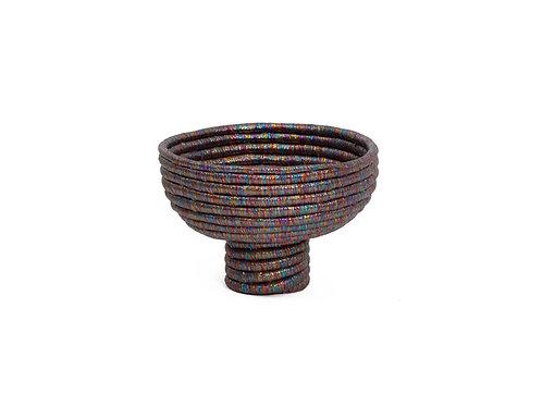 Kaleidoscopic Pedestal Bowl I