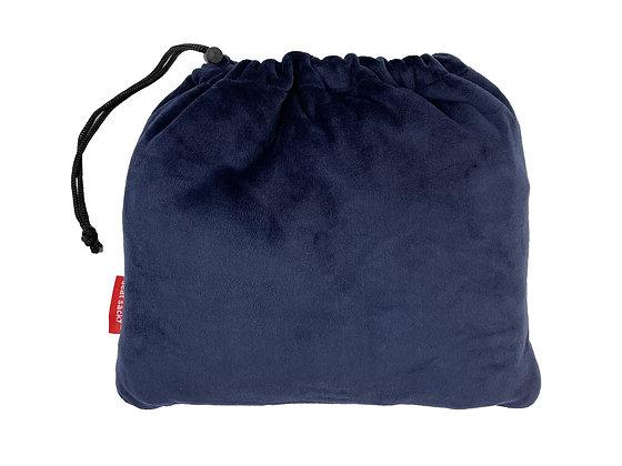 Blue Plush Seat Sacky