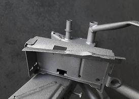 Rahmen sandstrahlen