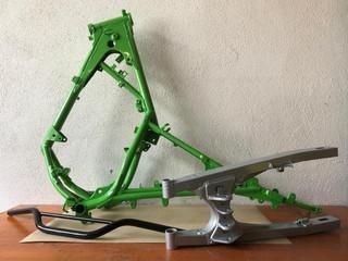 Motorrad-Rahmen