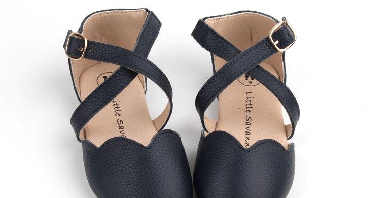 Savannah Sandals - 'Navy'