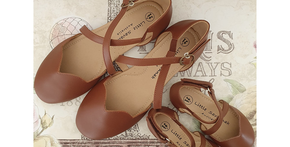 Brown - Savannah Sandals - New Version