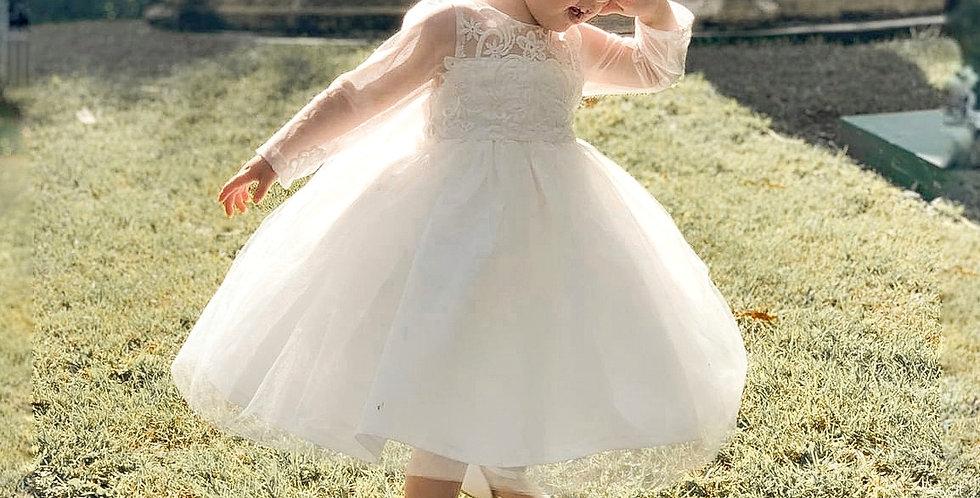 Couture Mini Bride Dress