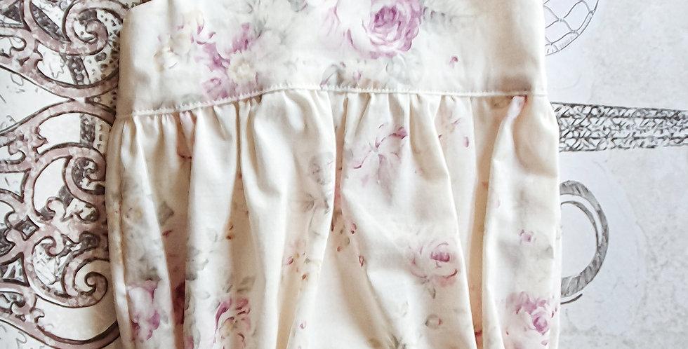 Lilac Cream Floral Romper