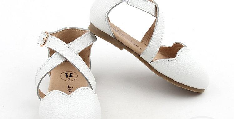 "Savannah Sandals -'White"""