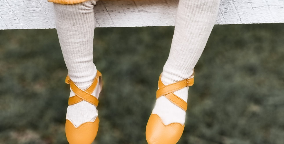 Savannah Sandals - 'Mustard'