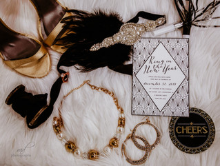 Styled Shoot - NYE Roaring 20s Inspired Wedding - Downtown Los Angeles (DTLA)