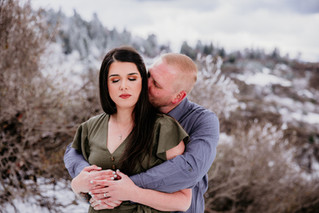 Skyforest | Engagement Portraits | Marlee + Marty
