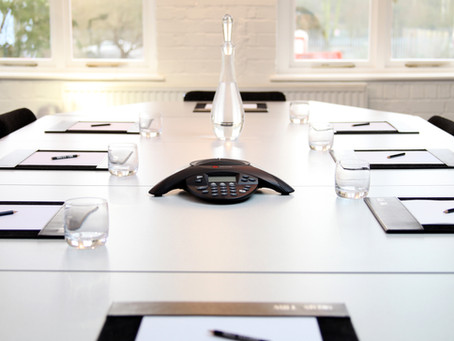 THE 3 P'S OF A GOOD MEETING ROOM