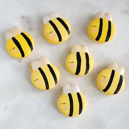 Bumble Bee Macaron Template