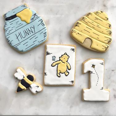 Vintage Winnie The Pooh Cookies