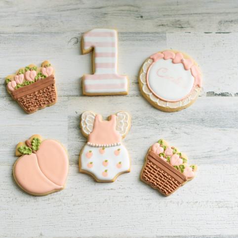 Sweet As A Peach Cookie Set