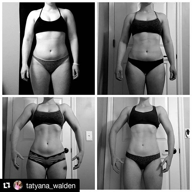 Slow and steady wins the race! Even woth setbacks and diet breaks, Tatyana made amazing progress fro