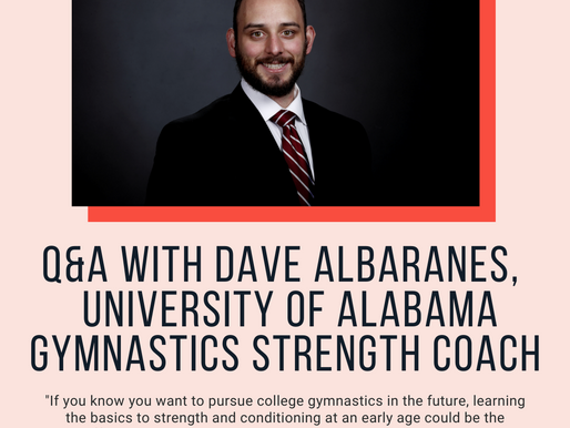 Q&A With University of Alabama Gymnastics Strength and Conditioning Coach Dave Albaranes