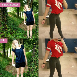 4 years and so many leg gains