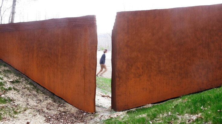 """""""Art In The Elements: Turn Park Art Space Opens""""  May 08, 2017 Rural Intelligence By Amy K"""